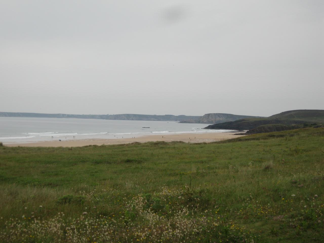 La plage de Kerdreux - Baie de Crozon